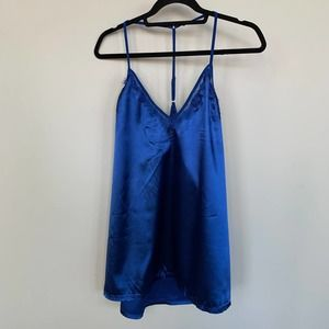 AvidLove Blue Night Gown Lingerie Size XL NWT